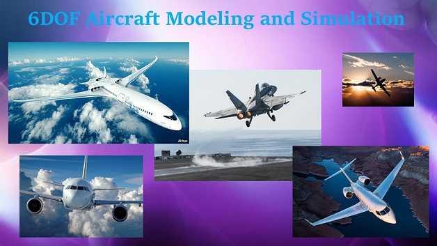 مدلسازی و شبیه سازی 6 درجه آزادی هواپیما