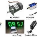 آموزش کاربردی آردوینو – کنترل مصرف کننده های ولتاژ یا جریان بالا